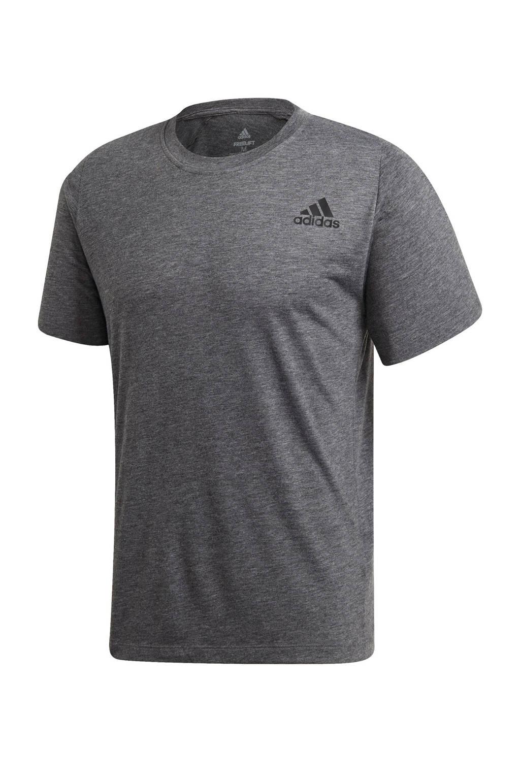 adidas   sport T-shirt antraciet, Antraciet