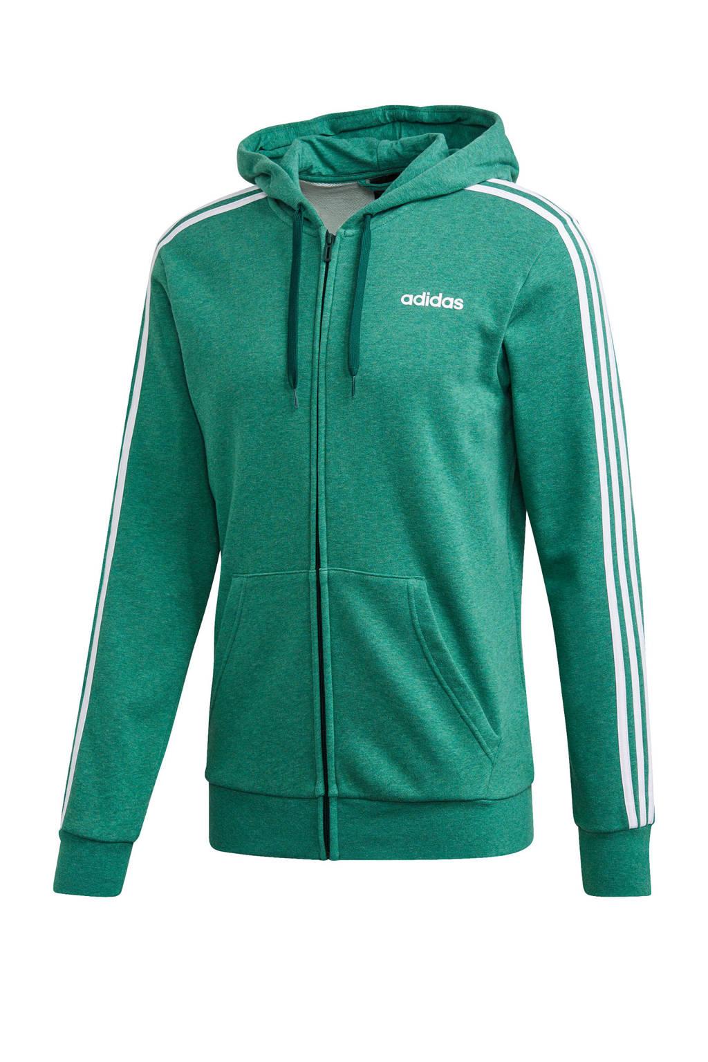 adidas Performance   sportvest groen/wit, Groen/wit