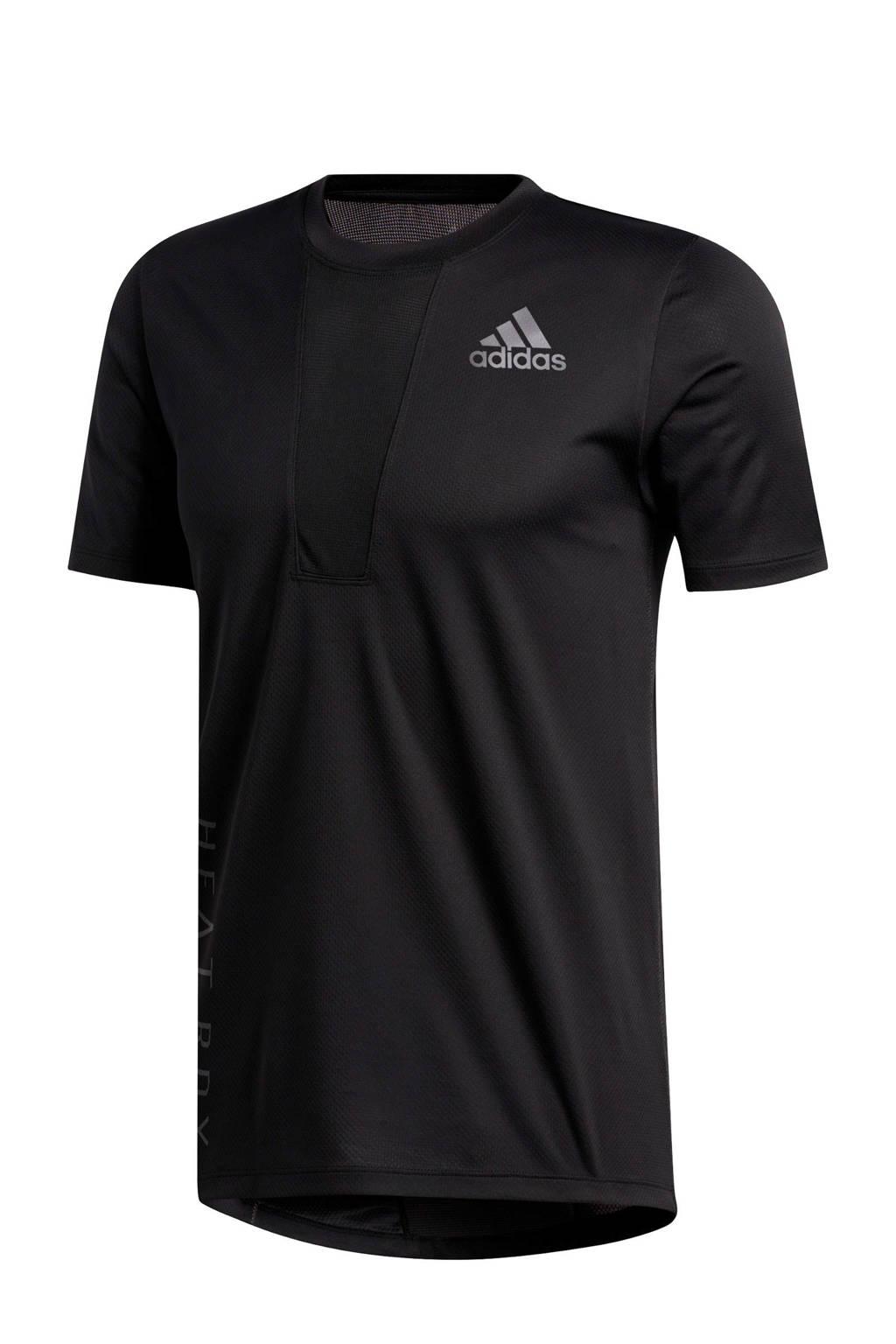 adidas Performance   sport T-shirt zwart, Zwart, Heren