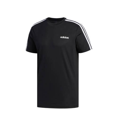 adidas Performance sport T-shirt zwart/wit