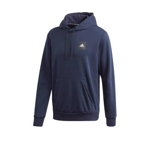 adidas performance sportsweater donkerblauw