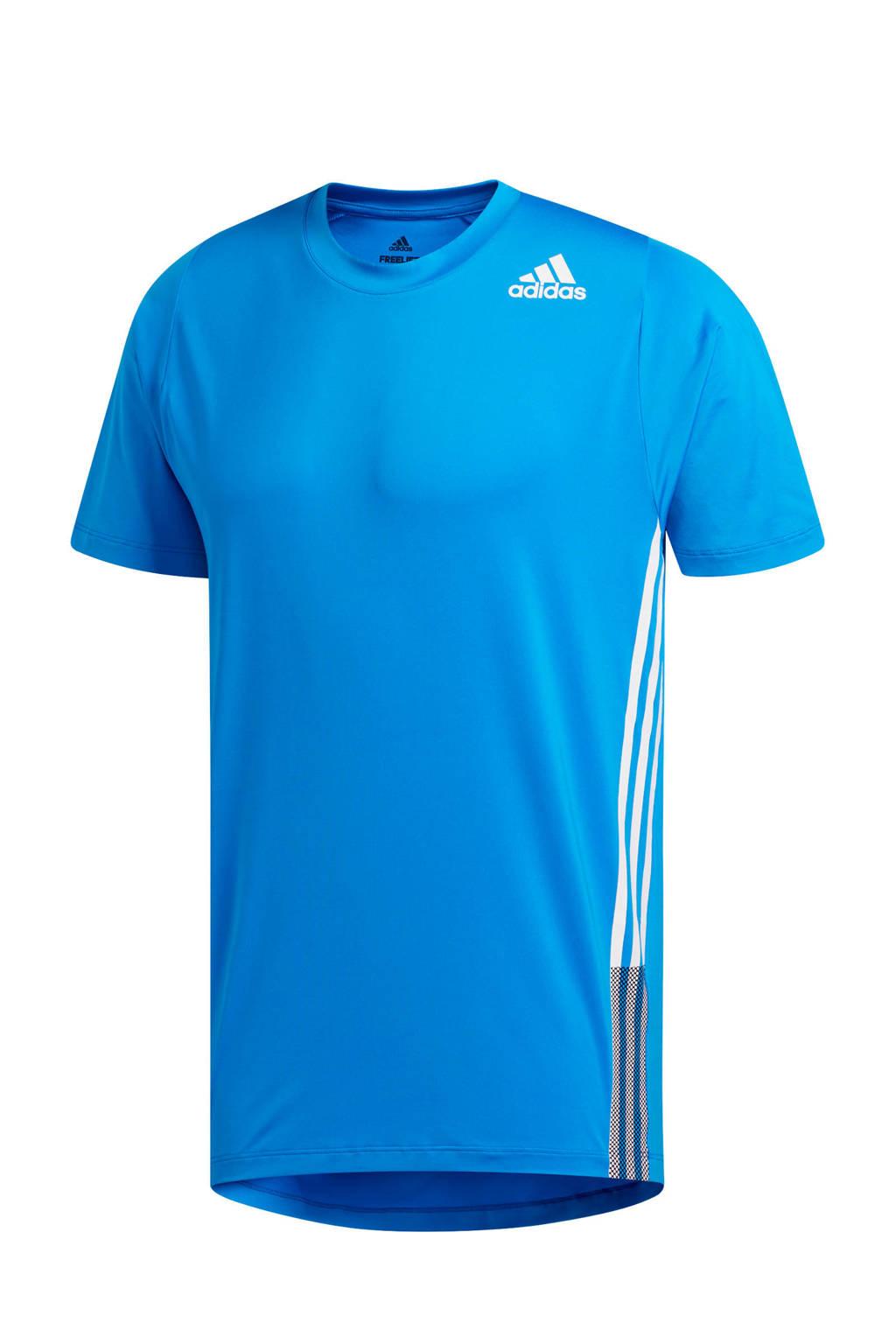 adidas Performance   sport T-shirt blauw, Blauw