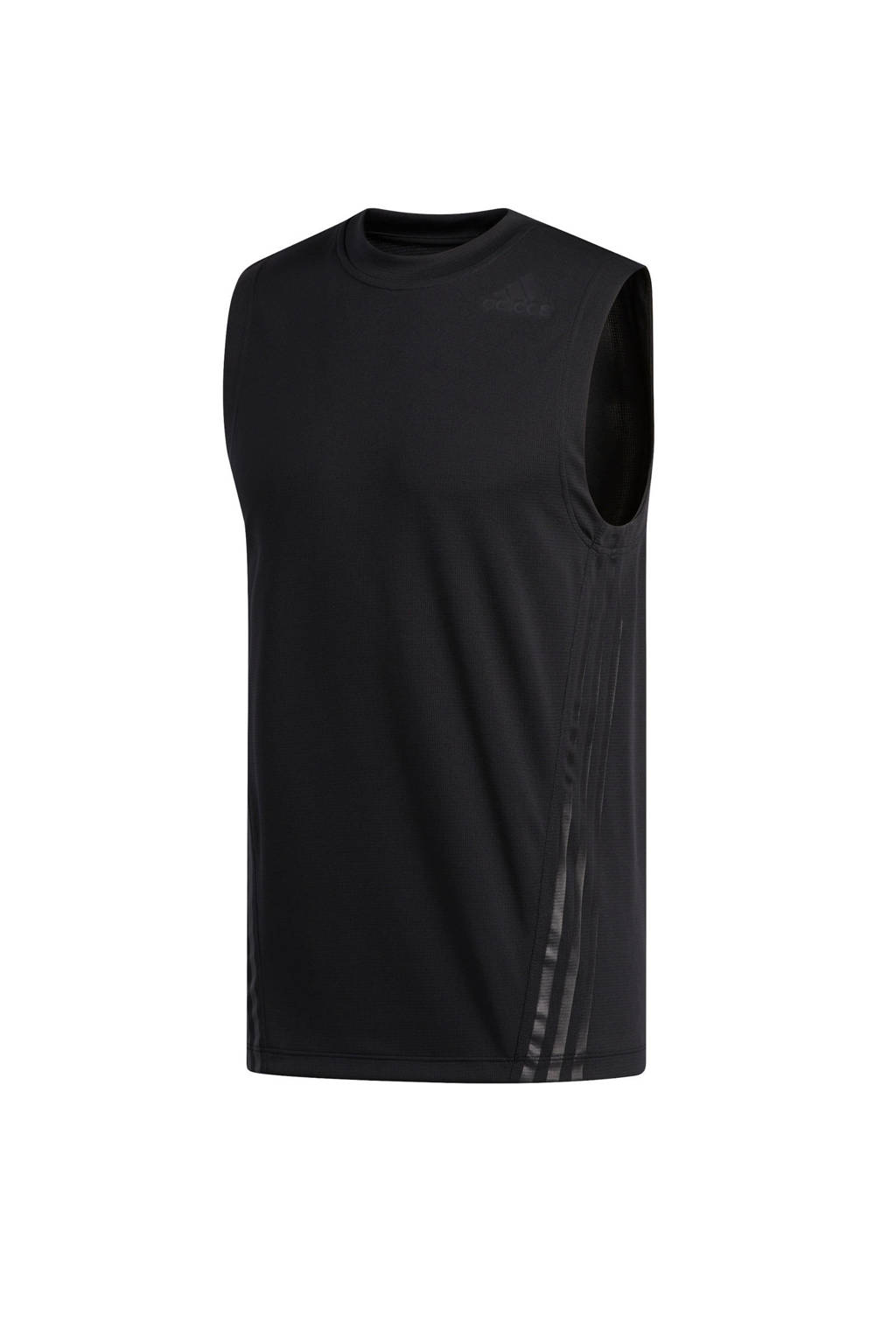 adidas Performance   sportsinglet zwart, Zwart