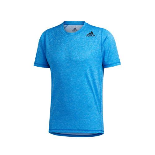 adidas Performance sport T-shirt blauw