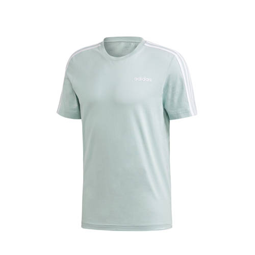 adidas Performance sport T-shirt lichtgroen