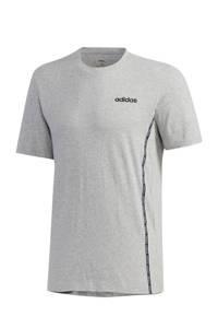 adidas Performance   sport T-shirt grijs, Grijs