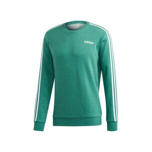 adidas Performance sportsweater groen/wit