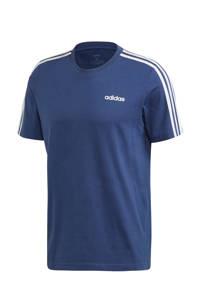 adidas Performance   sport T-shirt donkerblauw, Donkerblauw