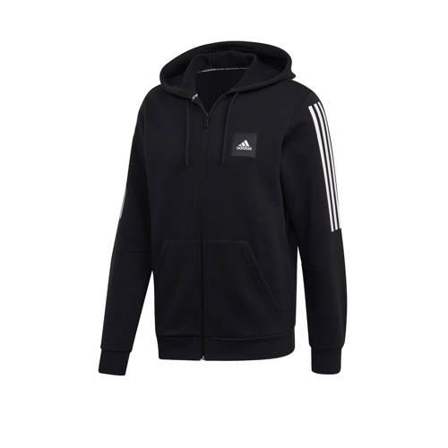 adidas performance sportvest zwart-wit