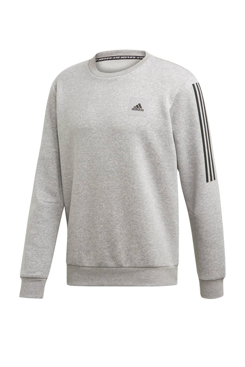 adidas Performance   sportsweater grijs/zwart, Grijs/zwart