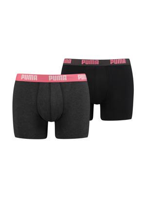 boxershort zwart (set van 2)