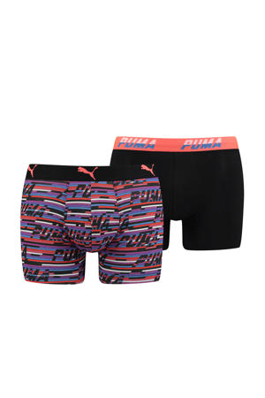 boxershort Logo zwart (set van 2)