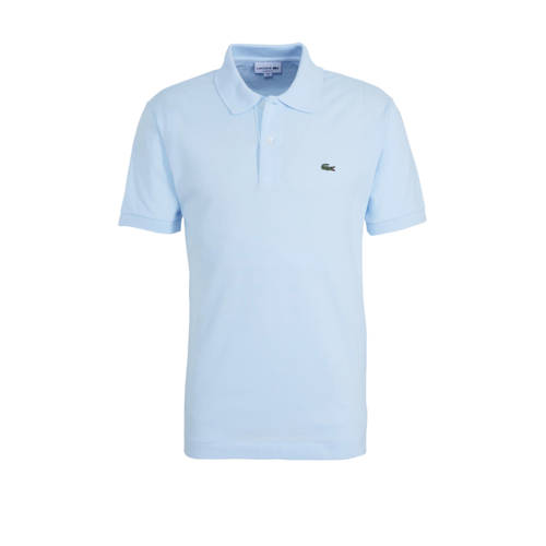 Lacoste regular fit polo lichtblauw
