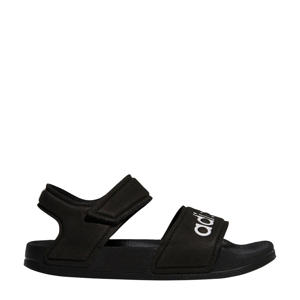 Adilette Sandal sandalen zwart/wit kids