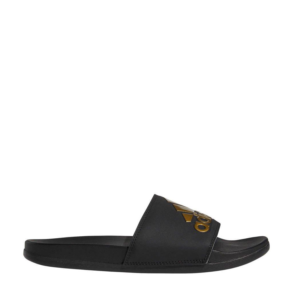 adidas Performance Adilette Comfort  slippers, Zwart/goud