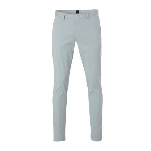 BOSS Menswear tapered fit pantalon grijs