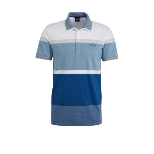BOSS Athleisure regular fit polo met logo meerkleu