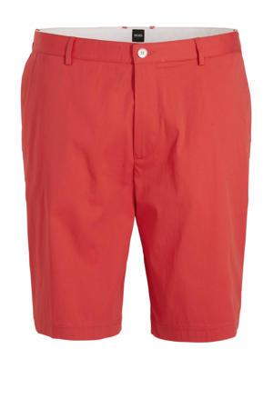 regular fit jeans short rood
