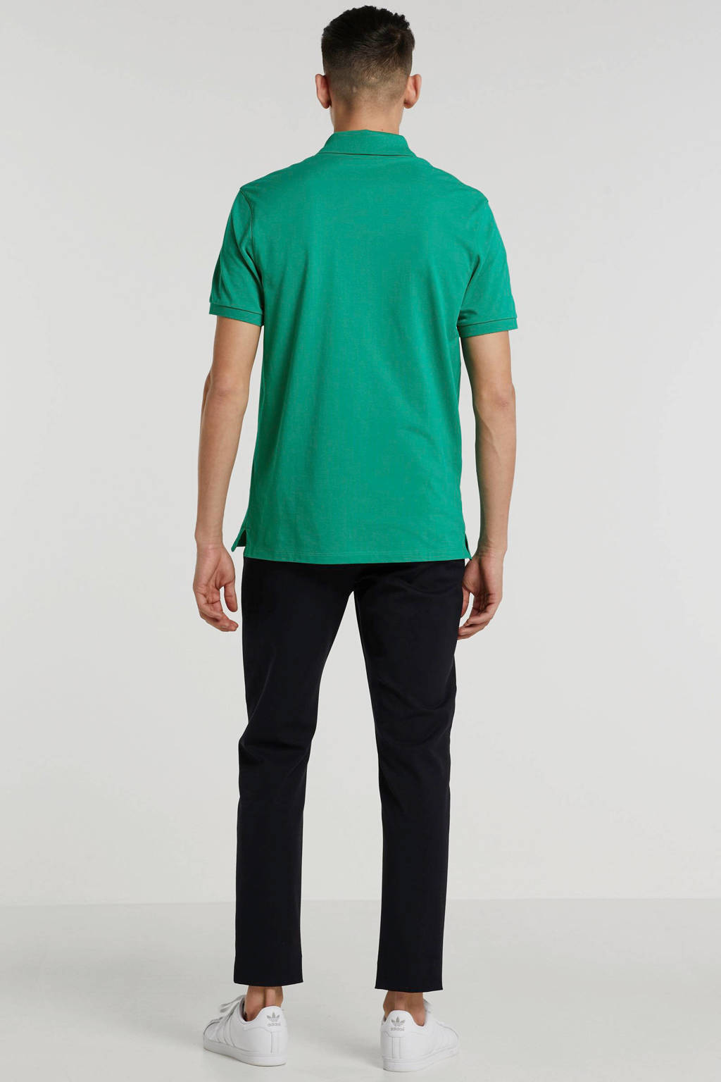 BOSS Menswear regular fit polo groen, Groen