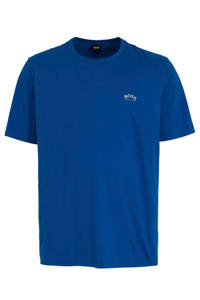 BOSS Athleisure Big & Tall T-shirt met logo blauw, Blauw