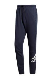 adidas   joggingbroek donkerblauw/wit, Donkerblauw/wit