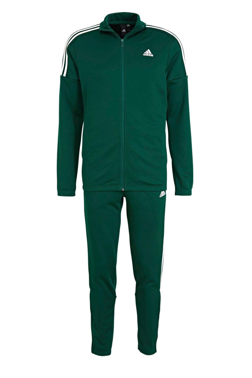adidas Performance   trainingspak groen/wit, Groen/wit