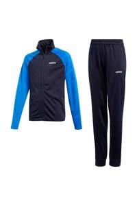 adidas   trainingspak donkerblauw/blauw, Donkerblauw/blauw