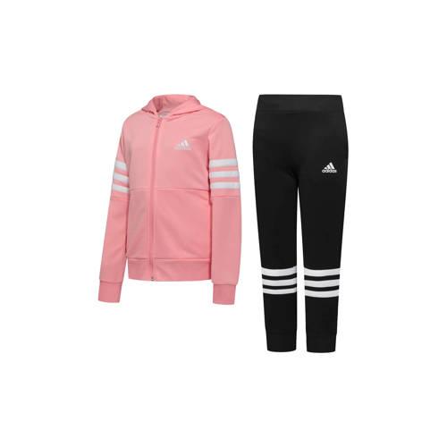 adidas Performance trainingspak roze/zwart