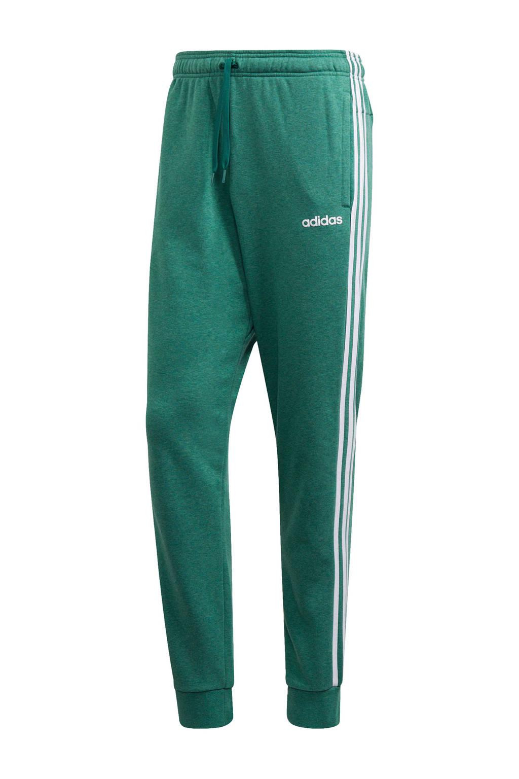 adidas Performance   joggingbroek groen, Groen/wit