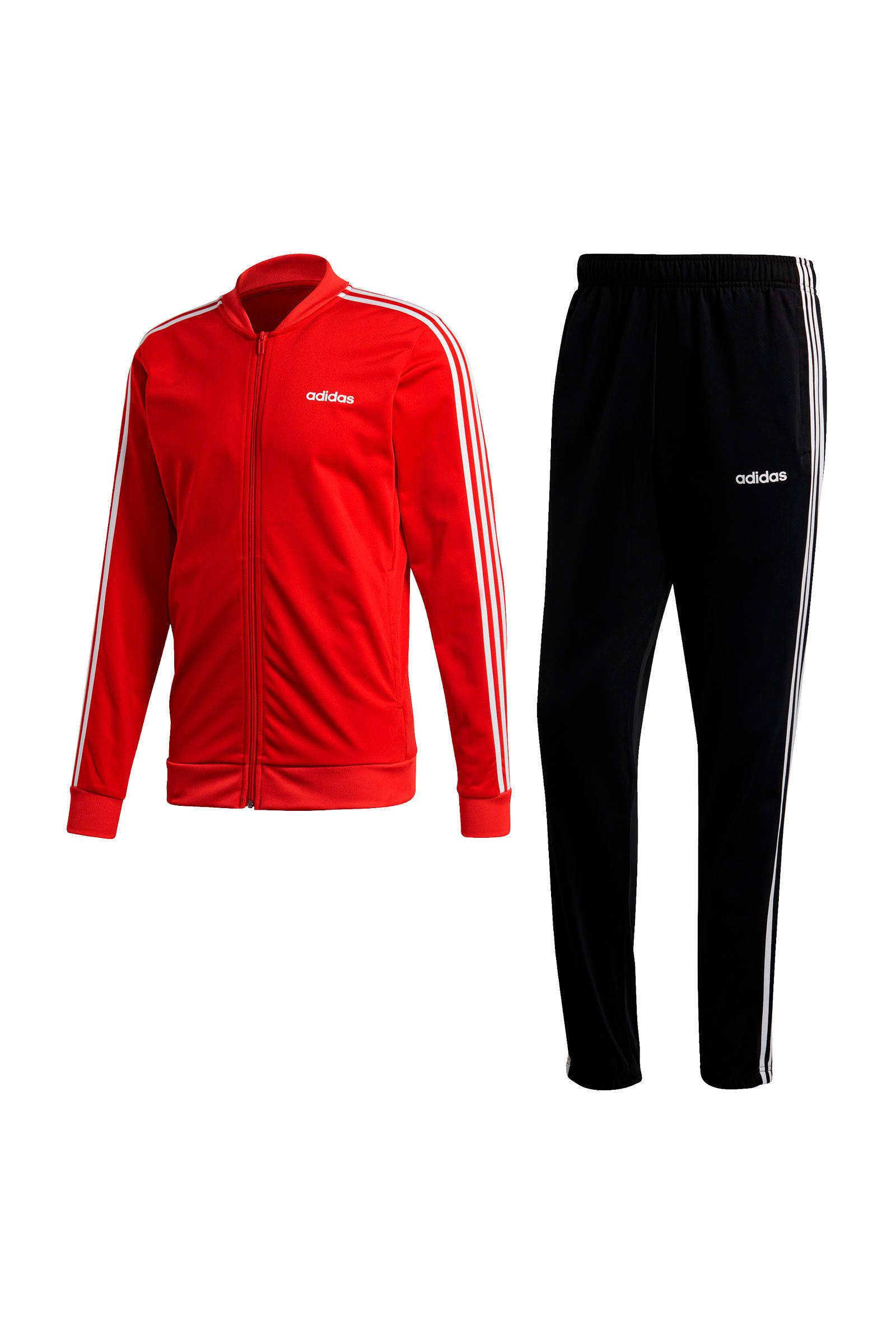 adidas Performance trainingspak roodzwart | wehkamp
