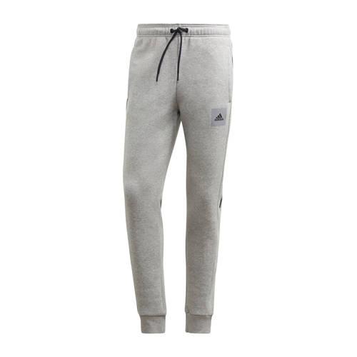 adidas performance joggingbroek grijs-zwart