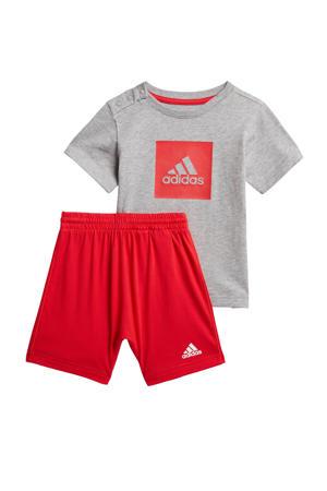 sportset grijs/rood