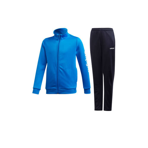 adidas Performance trainingspak blauw-donkerblauw