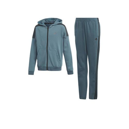 adidas Performance joggingpak grijs/blauw