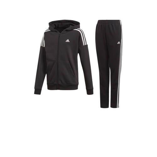 adidas Performance joggingpak zwart/wit