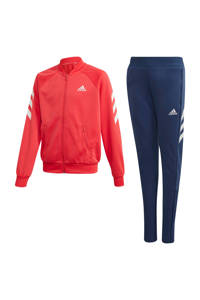 adidas Performance trainingspak roze/wit, Roze/wit