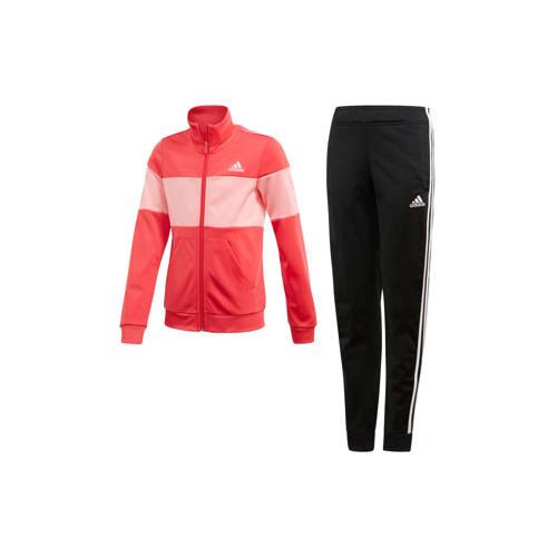 adidas performance trainingspak zwart-roze