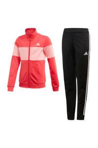 adidas Performance trainingspak zwart/roze, Zwart/roze