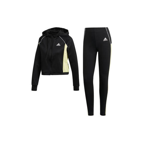adidas Performance trainingspak zwart/geel