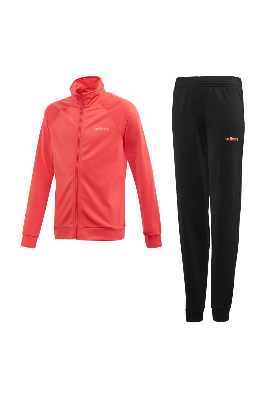adidas trainingspak roze/zwart, Roze/zwart
