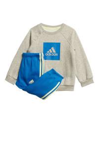 adidas Performance   trainingspak grijs/blauw, Grijs/blauw