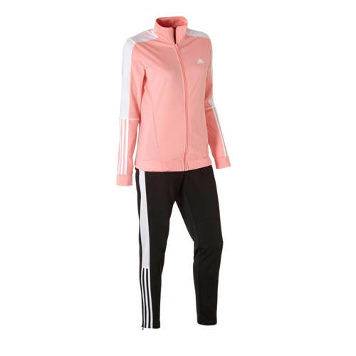 adidas Performance trainingspak roze/zwart
