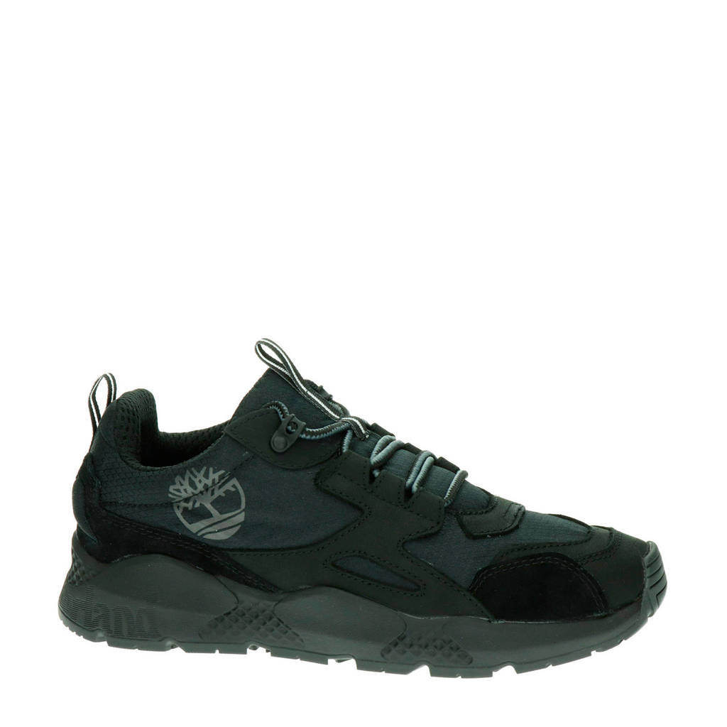 Timberland Ripcord  suède sneakers zwart, Zwart