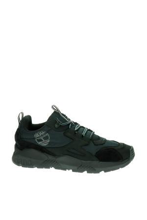 Ripcord  suède sneakers zwart