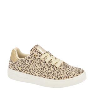 sneakers goud/panterprint