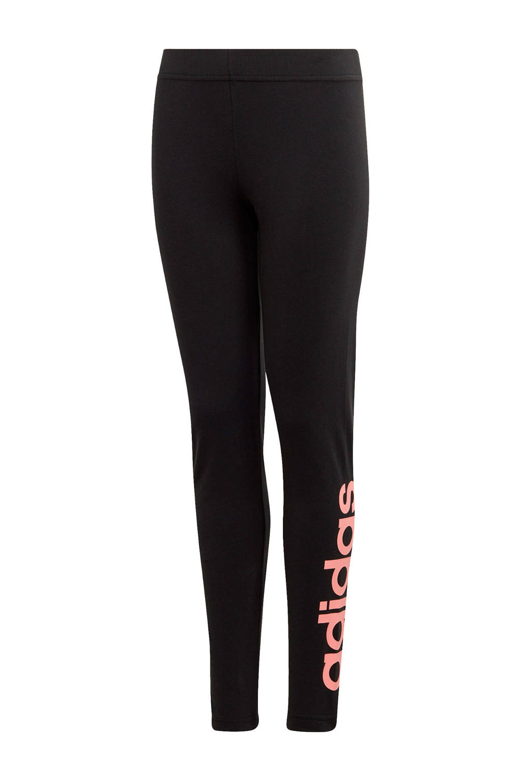 adidas Performance sportbroek zwart/koraalrood, Zwart/koraalrood