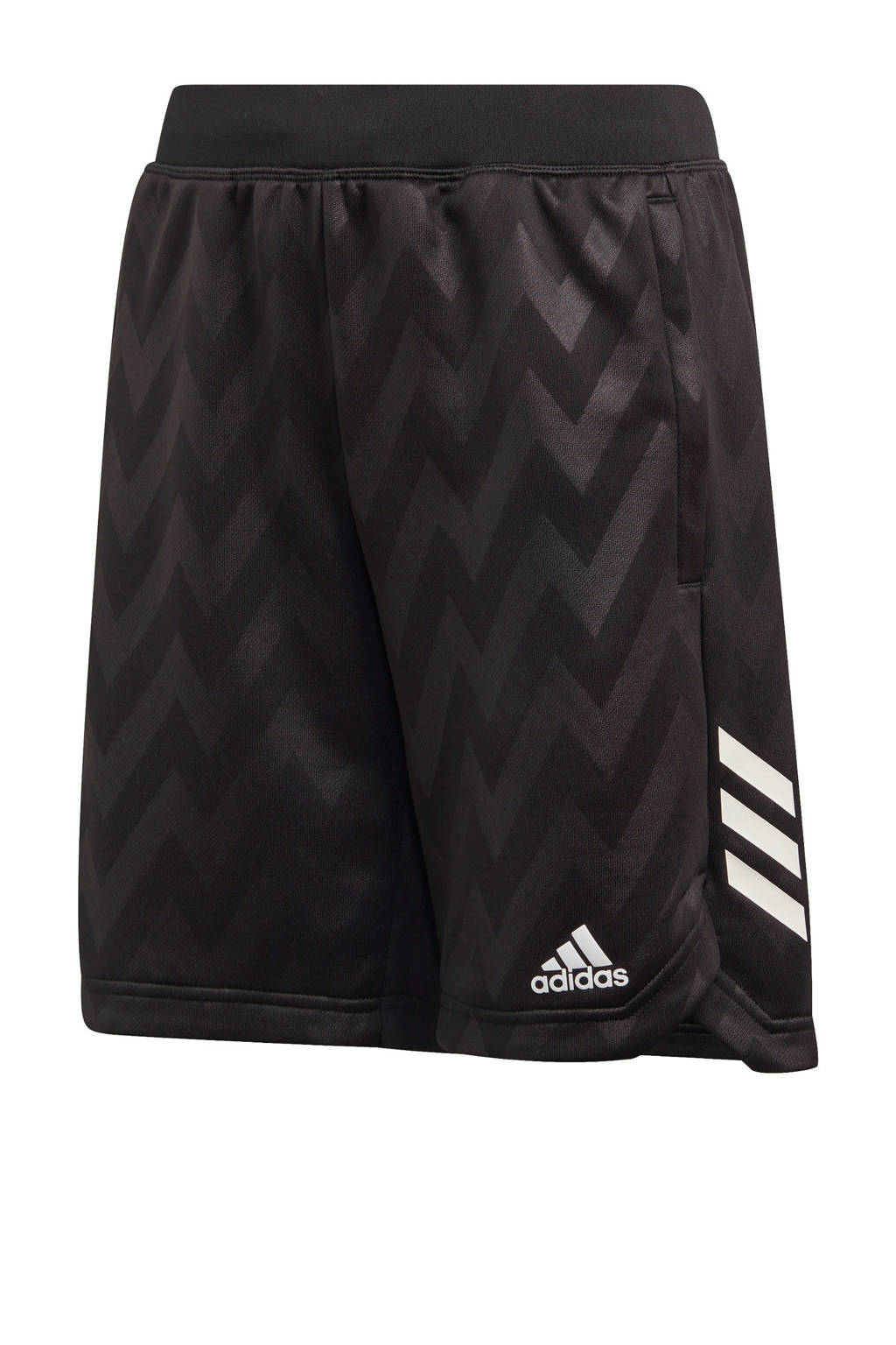 adidas Performance   sportshort zwart, Zwart