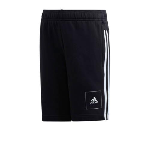 adidas Performance joggingshort zwart/wit