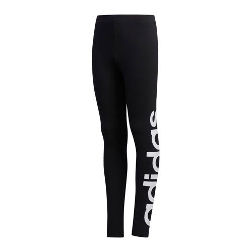 adidas Performance sportbroek zwart/wit