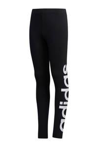 adidas sportbroek zwart/wit, Zwart/wit
